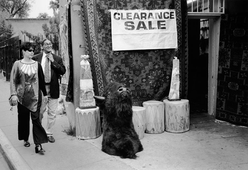 Clearance sale items in Santa Fe, New Mexico