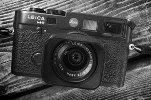 Leica M6 film camera